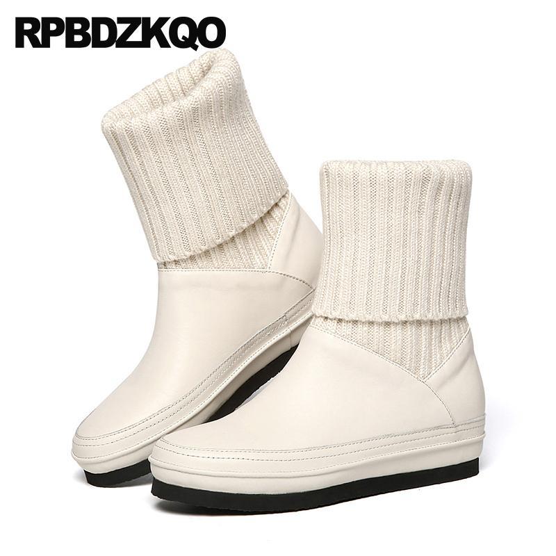 Para 2018 Diseño De Botas Compre Zapatos Mujer Piel Lujo vqfHHx
