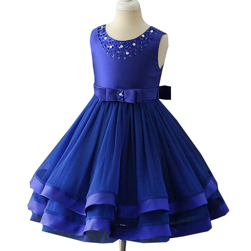 3e0d404cdd03 2018 Summer Floral Girls Dresses Baby Kids Dress Princess Wedding Dress  Elegant Party Christmas Dresses Children S Clothing 2 10 Years Cheap Flower  Girls ...