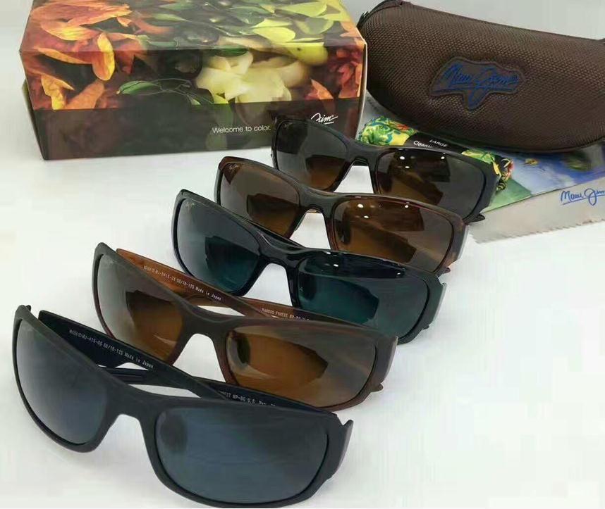 e02ec8a401c Fashion Maui Jim Sunglasses 415 Polarized Lens Sun Glasses MJ415 ...