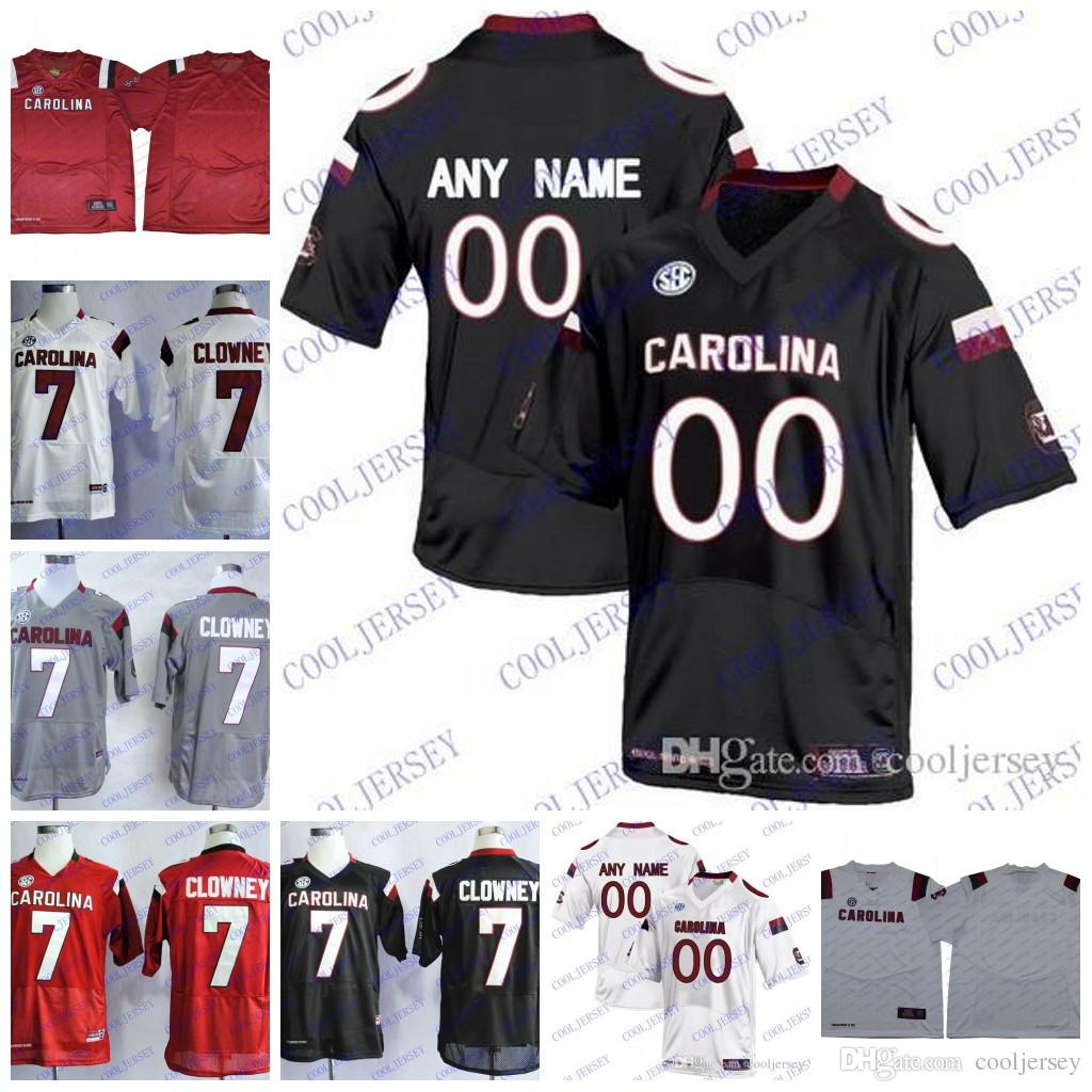 Custom NCAA South Carolina Gamecocks College Football Personalized Any Name  Number 7 Clowney Bentley Turner Jerseys S 3XL UK 2019 From Cooljersey 5cfed7d52