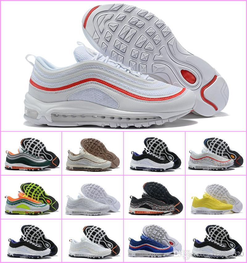 dc91025dbc7 Sales 2018 Off Air Undefeated 97 OG White 97s Man Running Sneakers 270 Shoes  White X Sports Designer Trainer Sneaker TNs Chaussures Maxes 97 Shoes Air 97  ...