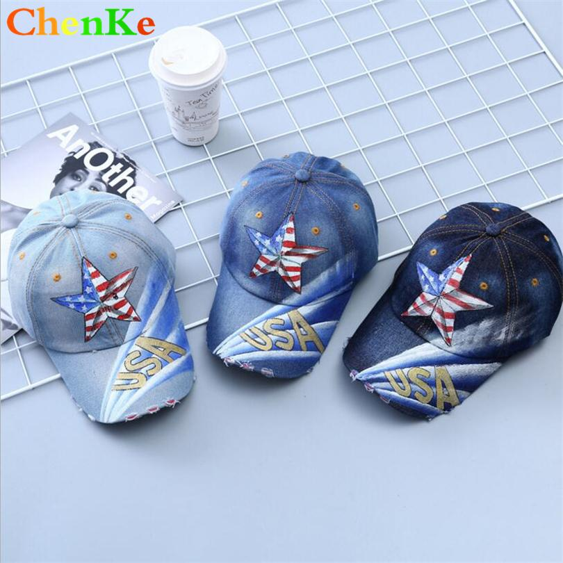 6fe1e6bcee2fd ChenKe Spring Cowboy Cap Personalized Print Baseball Cap Snapback Hat  Summer Fitted Hats For Men Women Grinding Multicolor Trucker Hats Flexfit  From Hilaryw ...