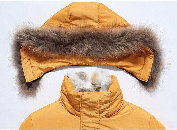 Nouveau manteau de fourrure à capuche long taille manteau épais femmes manteau bas manteaux chauds de nouvelles femmes hiver hiver veste en duvet de dame chaude vert noir blanc