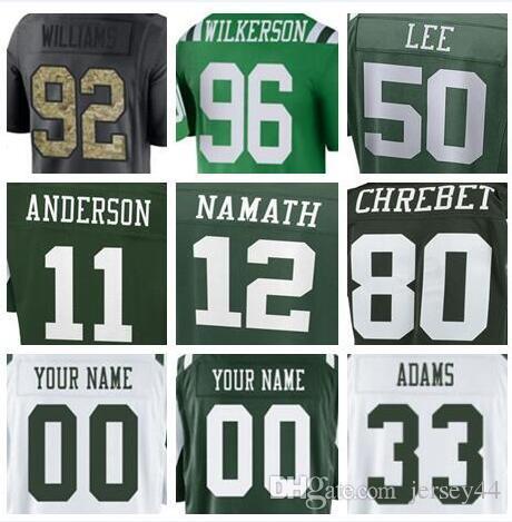 813f5e342aa New York Personalized American Football Jerseys College Shirts ...