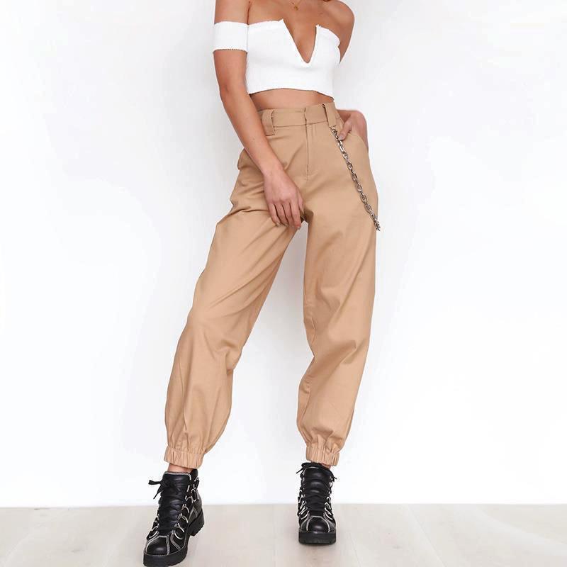 34cbcac36286 Acheter Femmes Harlan Longs Pantalons 2019 Printemps Et Automne Pantalon  Décontracté Casual Femme Loisirs SANS Chaîne Femme Normale WS4279Y De   36.29 Du ...
