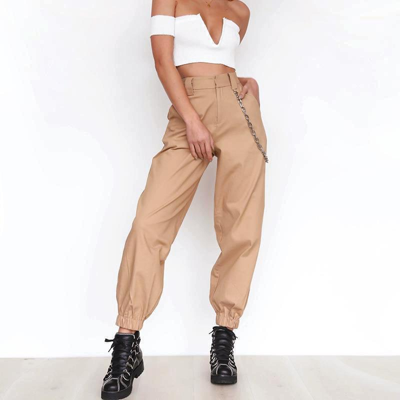 6cbb9779a9d7 2019 Women Harlan Long Trousers 2019 Spring And Autumn Casual Pants Casual  Leisure Femme WITHOUT Chain Female Regular WS4279Y From Illusory03, ...