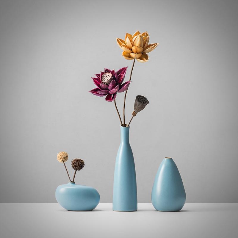 Großhandel Kreative Kleine Vase Ornamente Zen Persönlichkeit