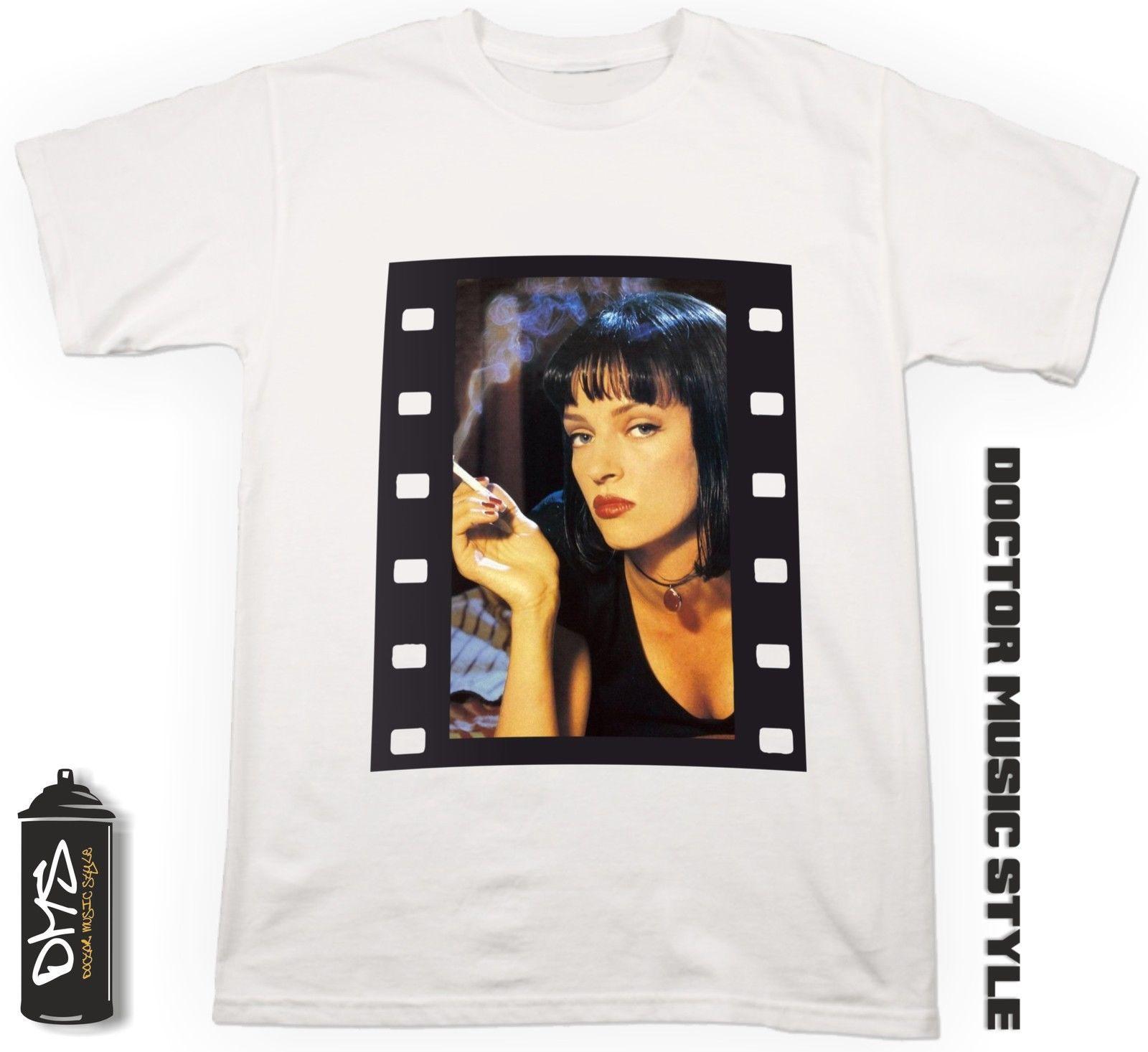 Acquista T Shirt Film Pulp Fiction Con Stampa Personalizzata Maglietta Cinema  Cult Movie A  24.2 Dal Aringstore  5b917527244