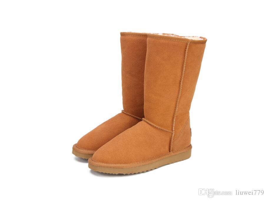 High Snow Stivali For Donna Winter  scarpe Sheepskin Pelle Fur Lined  Winter  4cab21