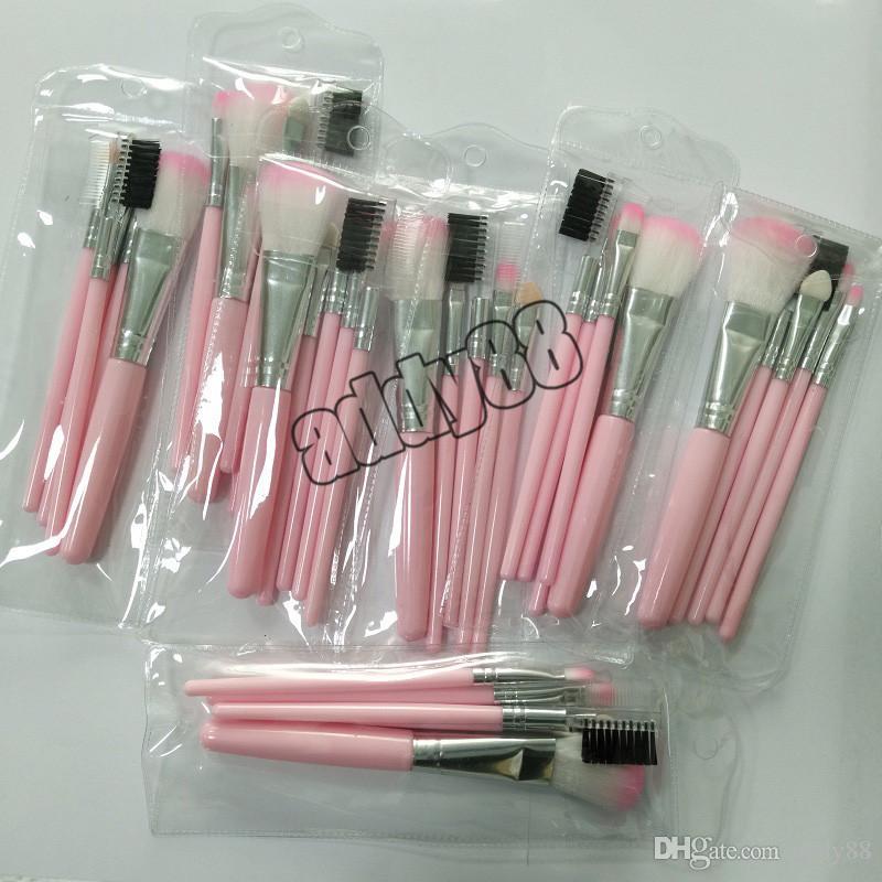 Makeup Brushes pink Eyeshadow Brush Set Blush Powder Beauty Tools Cosmetic Brush Kits