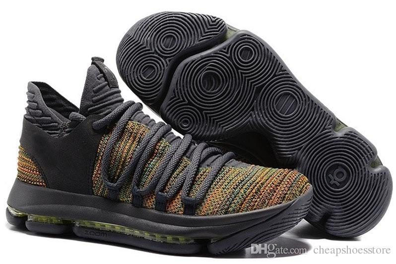 New Zoom KD 10 Anniversary University Red Still Kd Igloo BETRUE Oreo Men Basketball Shoes USA Kevin Durant Elite KD10 Sport Sneakers KDX