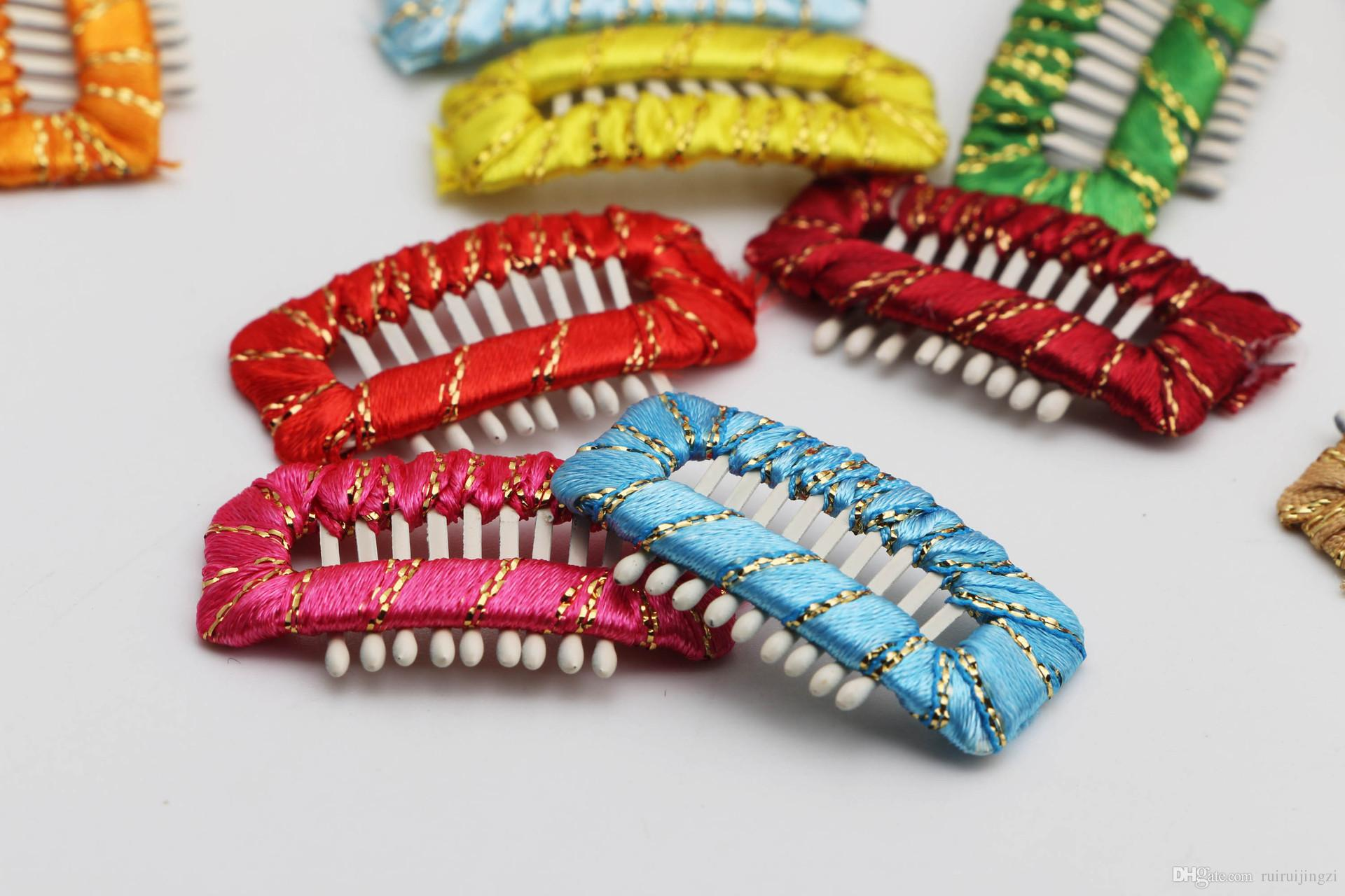 Dog Grooming Wedding Funny Accessories Dog Comb Hairpin BB Hair Clips 9 teeth pure hand around baby safety