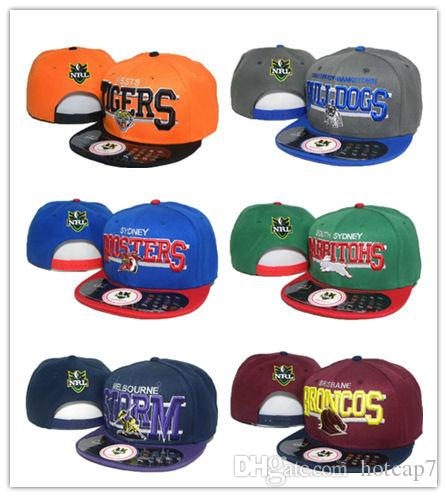 637299e3 Top Selling NRL Cap Hat Baseball snapback hats for man With Logo Tags  Football Helmet Outdoor Sports Hat NRL Ladder Mix Order