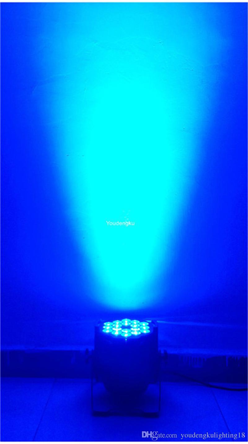 up light wedding18w led par64 dmx led par can 6in1 led par fixtures