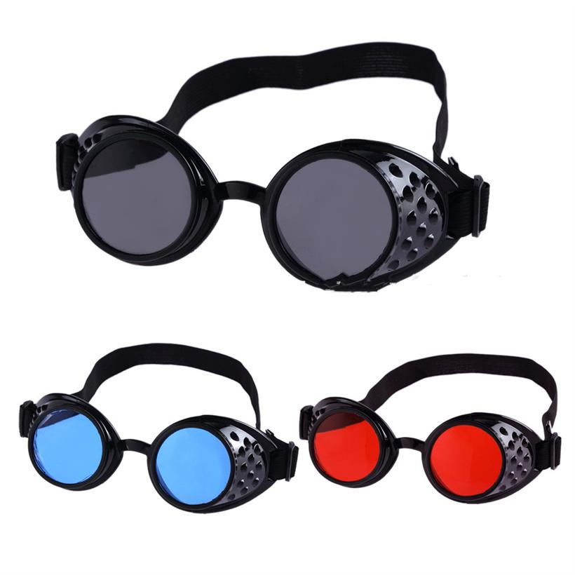 53c79641cd Vintage Steampunk Goggles Men Women Style Steam Punk Sunglasses High  Quality Welding Party Punk Glasses Cosplay Kids Sunglasses Locs Sunglasses  From ...