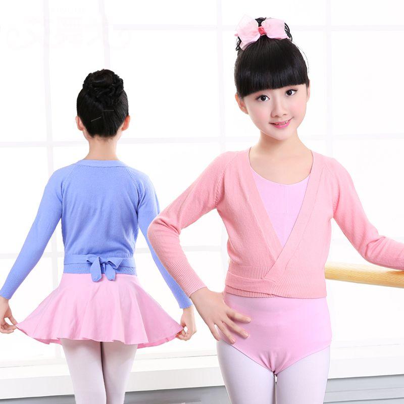 74b75317c 2019 Winter Autumn Warm Child Girls Ballet Wrap Sweater Cardigan Dance  Clothes Kids Warm Long Sleeve Waist Belt Sweater From Ferdinand07, $45.51 |  DHgate.