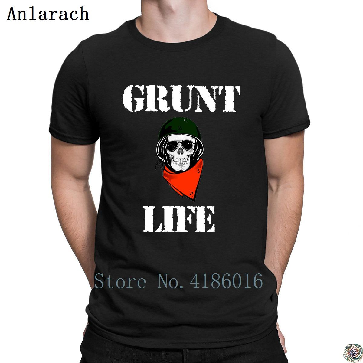 780ff5417 Grunt Life Military Tshirts Clothes Euro Size Design Classic Men'S Tshirt  Pictures Tee Tops Anti Wrinkle Spring Best T Shirts Shirts Online From  Dzuprightg, ...