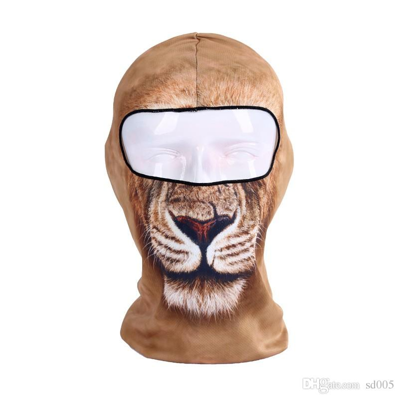 Outdoor Motorcycle Sunscreen Full Face Mask Soft Breathable Men