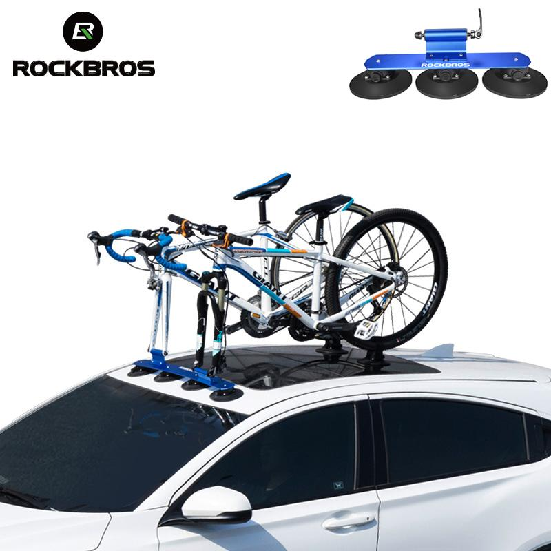 ffc8a4b6a Satın Al ROCKBROS Bisiklet Raf Roof Top Emme Bisiklet Araba Raf Taşıyıcı  Hızlı Kurulum Enayi Çatı MTB Dağ Bisikleti Yol Için