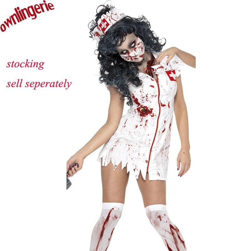 mxl adult ragged sexy scary costume mummy costumes zombie halloween costumes blood sexy nurse for women cosplay nurse costume bunny costume from cagney