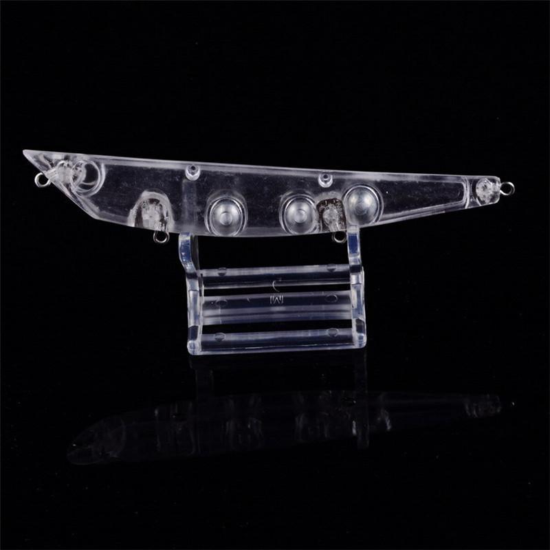 빈 물고기 몸 채색되지 않은 컬러 낚시 미끼 12cm 15g / DIY Lipless Dray Pencil Swimbaits Plastic Bionic Baits