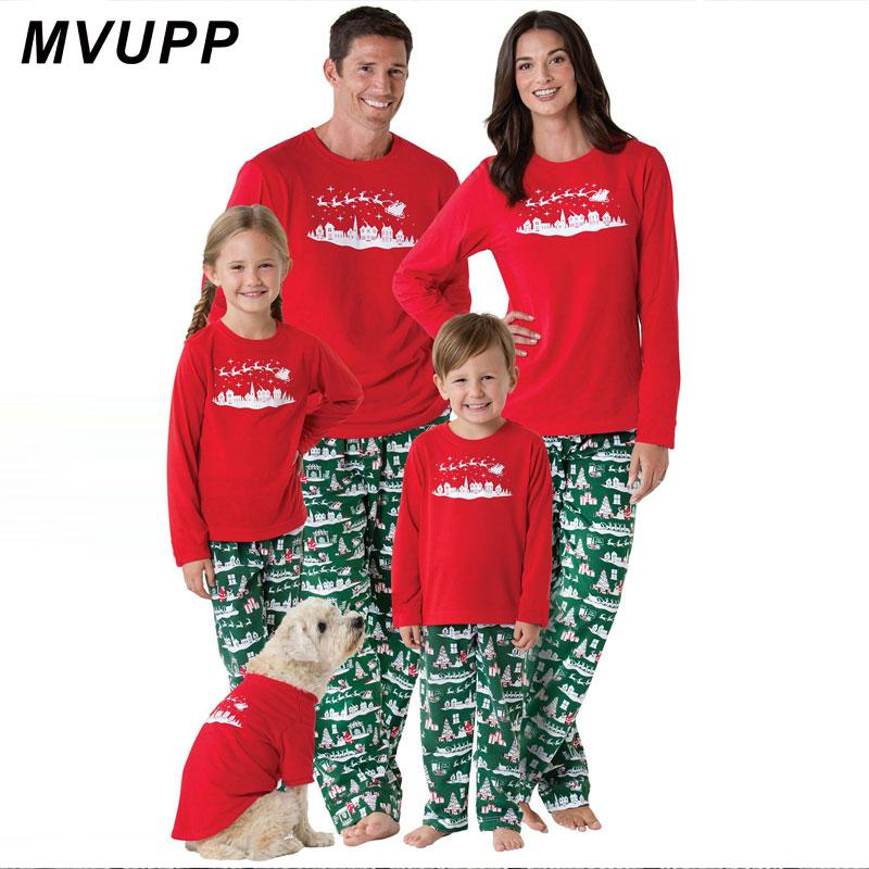 Compre Pijamas De Navidad A Juego Con La Familia Ropa De La Ropa De