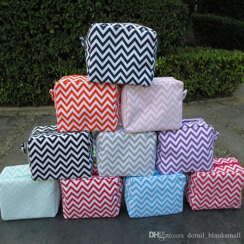 Ready In Stock Chevron Cosmetic Bags  12ffc0d47b77f