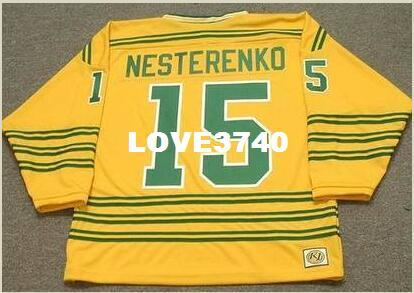 c5af4aab477 2019 Mens #15 ERIC NESTERENKO Chicago Cougars 1974 WHA Retro Hockey Jersey  Or Custom Any Name Or Number Retro Jersey From Love3740, $20.11 | DHgate.Com