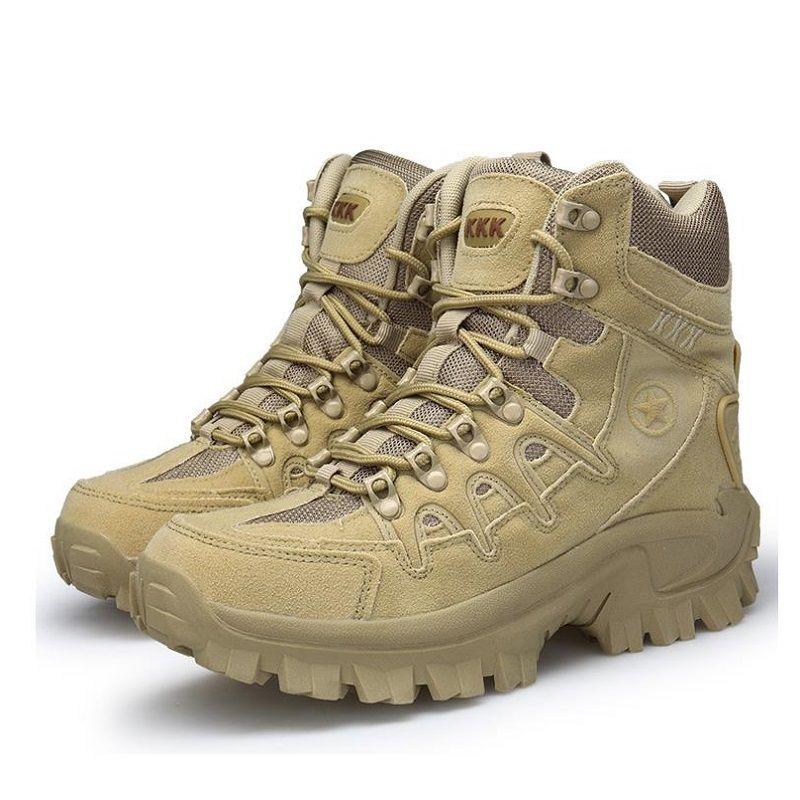 6f81e8572bf7e Acheter Chaussures De Sport Tactiques En Plein Air Pour Hommes Escalade  Hommes Randonnée Bottes Montagne Chaussures Antidérapantes Ultra Légères De  $87.06 ...