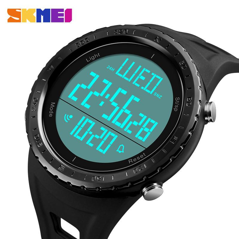 026b72fcc Compre Atacado KMEI Homens Relógios Esportivos Ao Ar Livre Grande Mostrador  Dos Homens Relógio À Prova D 'Água Digital Relógio De Pulso Relógio Relogio  ...