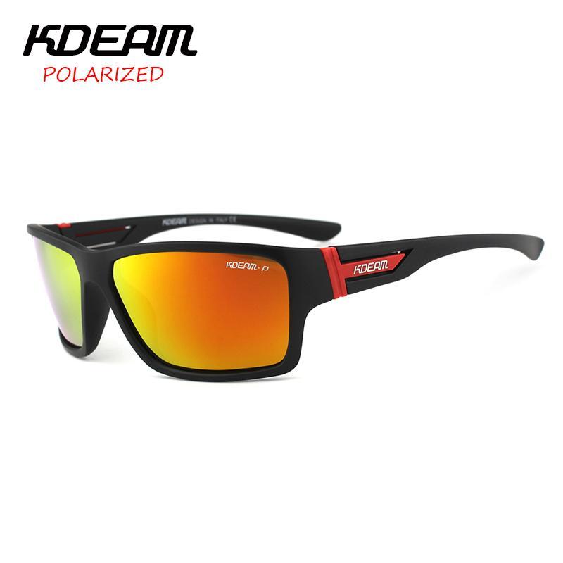 86def23579a KDEAM 2017 Summer Polarized Sunglasses Men HD Polaroid Lens Exercise Sun Glasses  Goggles With Brand Hard Box Lentes De Sol KD510 D18101302 Designer ...