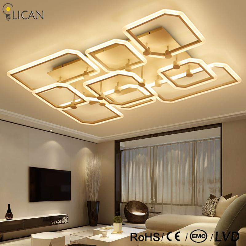 2018 Lican Modern Led Ceiling Lights For Living Room Bedroom Home 85 265v Lamp Fixtures Re Plafonnier De Plafond From Cornelius