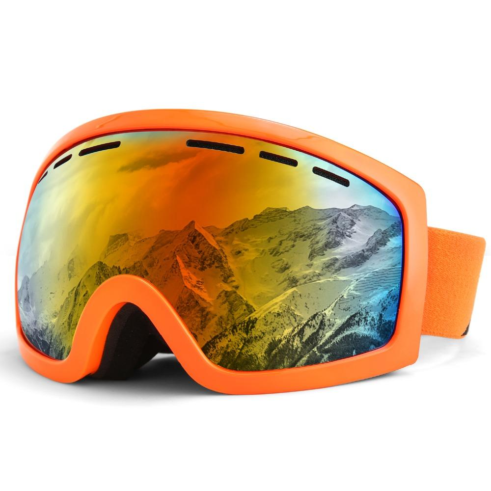 8d361539d4 KUTOOK Ski Goggles Double Lens Anti-fog UV Protection For Men Women ...
