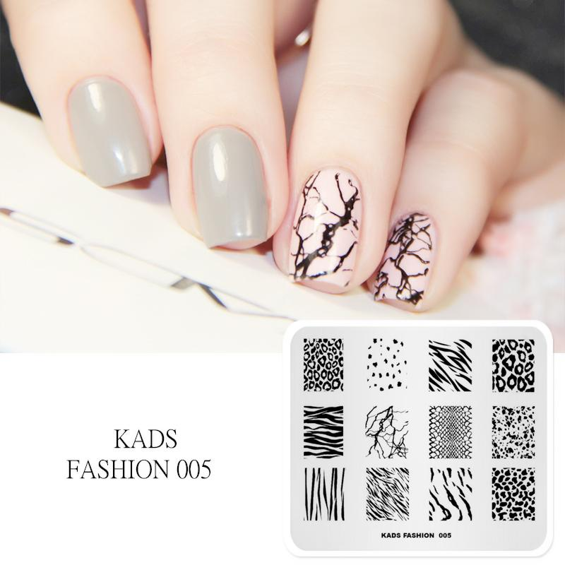 kads new arrival fashion 005 series stripe leopard speckle shape