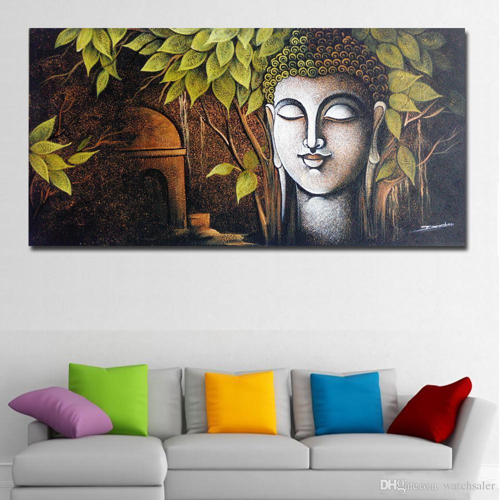 1 Panel Buddha Painting Wall Pictures Print Painting On Canvas Abstract Wall Art Prints Poster For Living Room Home Decor No Frame
