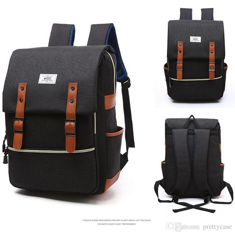 5d9da9d15f Fashion Men Women Backpack Waterproof Oxford Rucksack College Students School  Bag Outdoor Sports Travel Daypacks Vintage Laptop Backpack Jansport  Backpacks ...