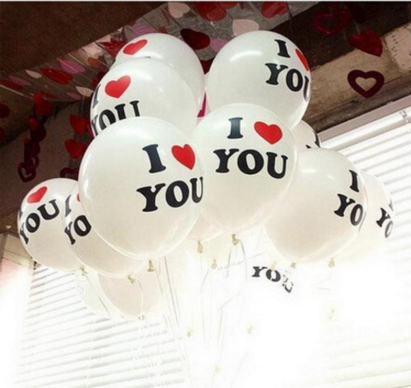 Love Pearl Latex Helium Balloons Inflatable Wedding Balloons Children Birthday Party Decoration Air Balls