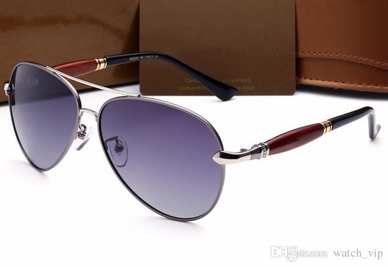8c53c50714ef3 Compre Novos Óculos De Sol Dos Homens Polarizada Brilhante Sapo Espelho  Homens Retro Óculos De Sol Reflexivos Óculos 5015 Frete Grátis De  Watch vip, ...
