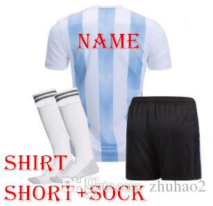 36feb4d29fe 2019 2018 Argentina World Cup Kit MESSI DYBALA Argentina Home Soccer Jersey  AGUERO DI MARIA HIGUAIN 2018 Football Shirts From Zhuhao2