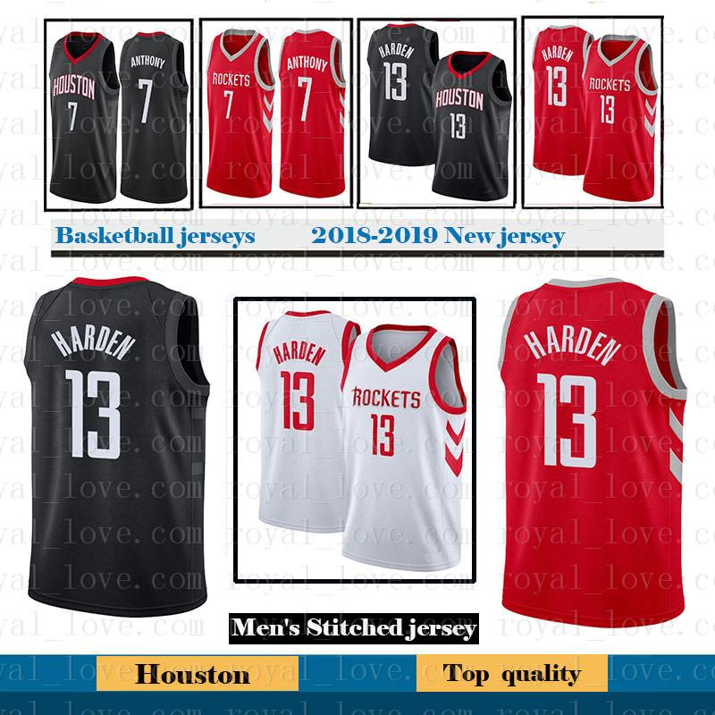 13 James Harden Rockets 2018 New Men s Houston Basketball Jersey ... 374cbbd10