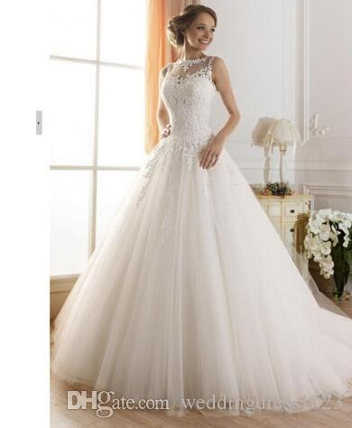 Grosshandel Wuzhiyi Hochzeitskleid Prinzessin Lace Hochzeitskleid