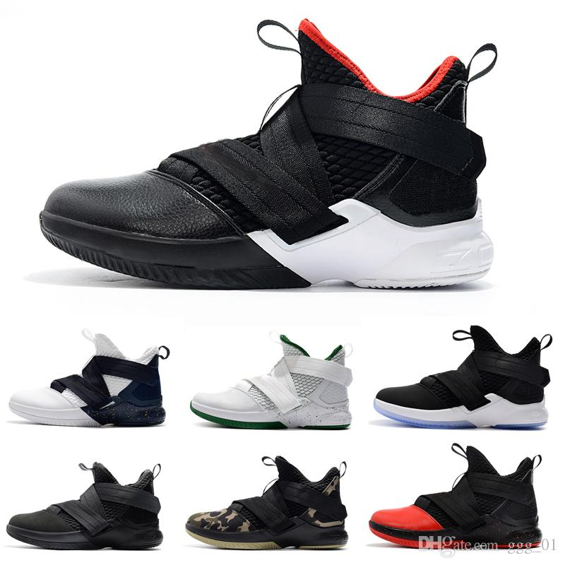 91a6db4ef177 2019 Newest Orange Purple Soldier XII 12 EP For Mens Basketball Shoes  Athletic Sport Sneakers Shoes Jordans Sneakers On Sale From Ggg 01