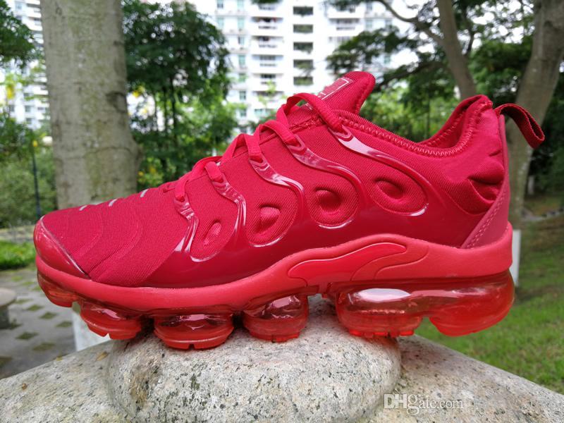 new products a7f2d 6dd62 Compre Zapatos De Baloncesto TN Plus Men Zapatos De Cuero Blanco Oliva En  Metalizado Blanco Hombres Para Correr Pack De Zapatos Masculino Triple  Zapatos ...