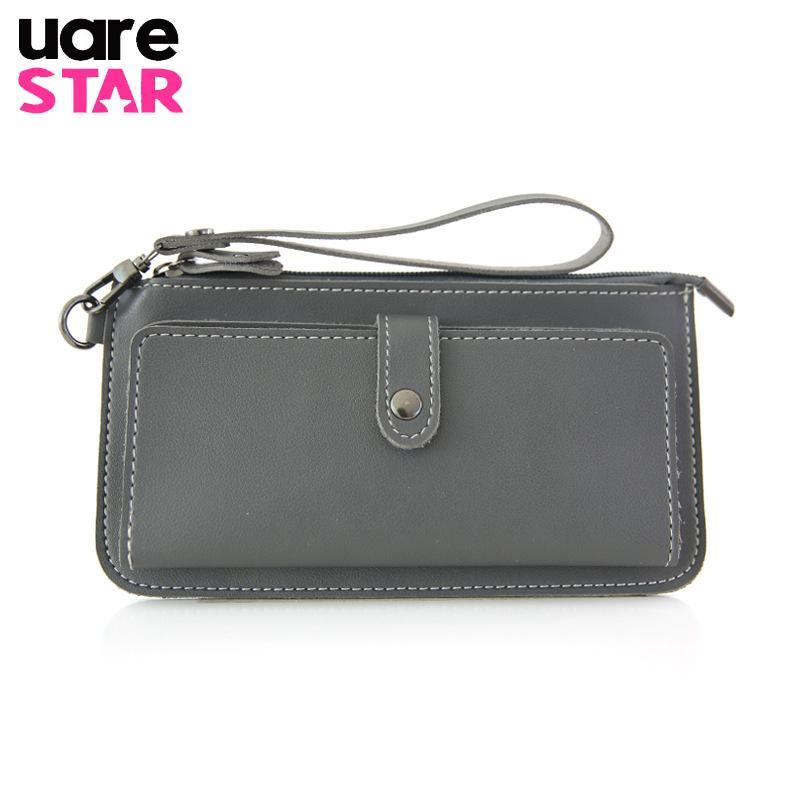 262a078dd17 2017 Women's Purse High Quality PU Leather Women's Wallet Zipper Bag ...