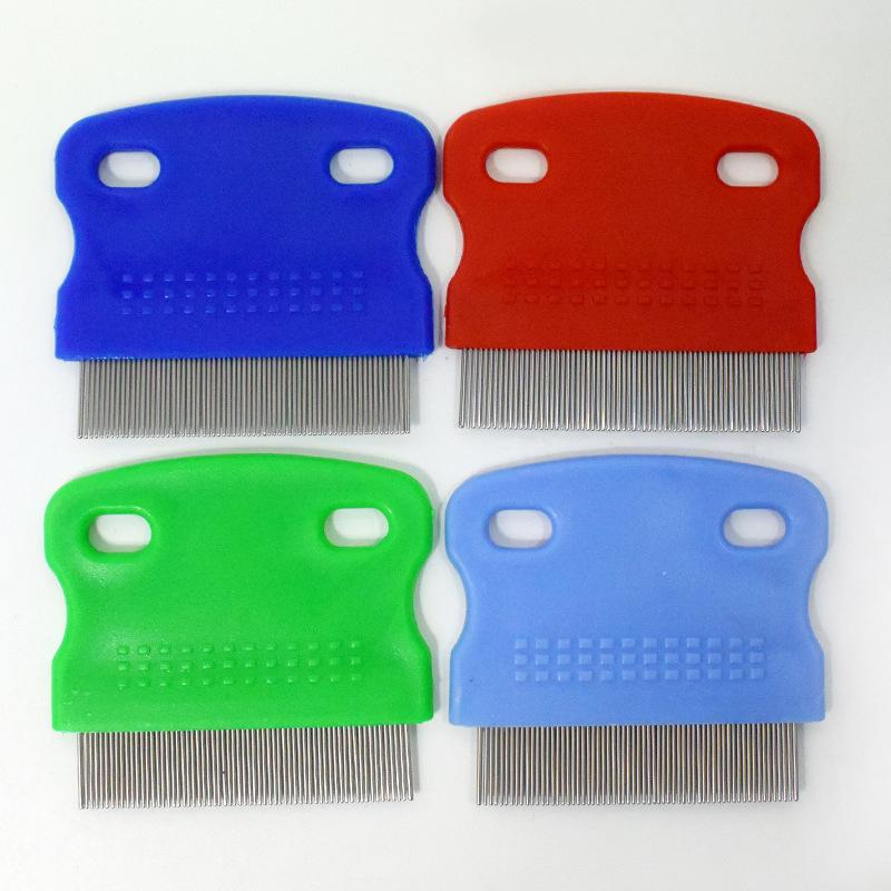 10 Pack Pet Combs-Comb -Removes Tangles, Knots, Loose Fur and Dirt. Ideal for Everyday Use for Dogs and Cats with Short or Long Hair