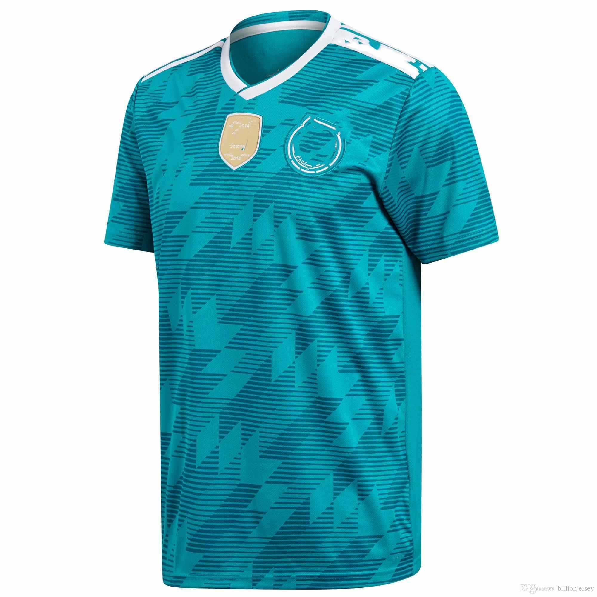 1ae189bedea 2019 2018 World Cup Germany Away National Team Soccer Jerseys Football T Shirt  Jerseys Size S XL Customized Item From Billionjersey
