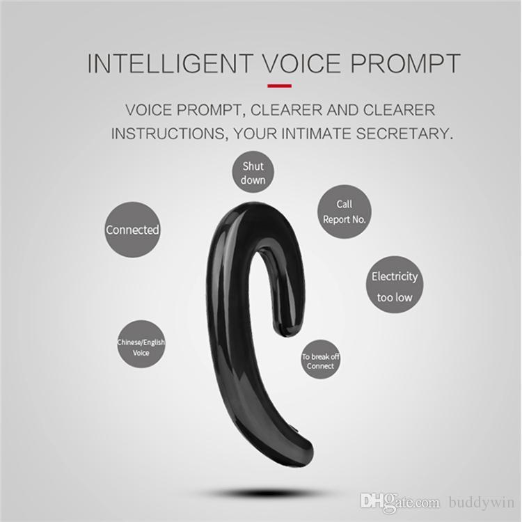 K8 Bluetooth Kopfhörer Drahtlose Kopfhörer Stereo Ohrbügel Universal Mini Phone Headset Keine Ohrstöpsel Freisprecheinrichtung Mit Mikrofon