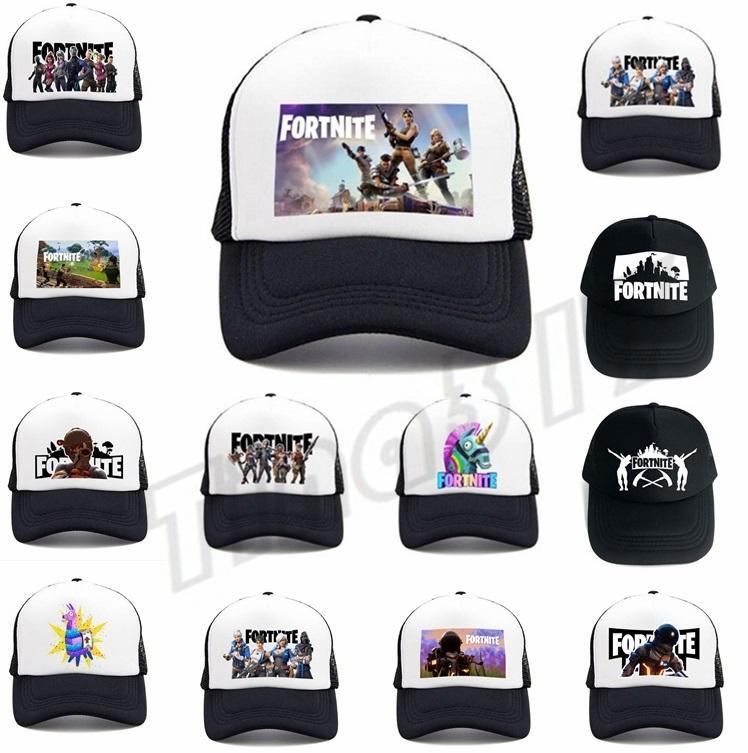New 47styles Fortnite Baseball Cap Male Men Snapback Breathable Fortnite  Mesh Net Hats Man Hip Hop Hat Quick Drying Caps Ball Caps I413 Fortnite  Baseball ... a35016649be9