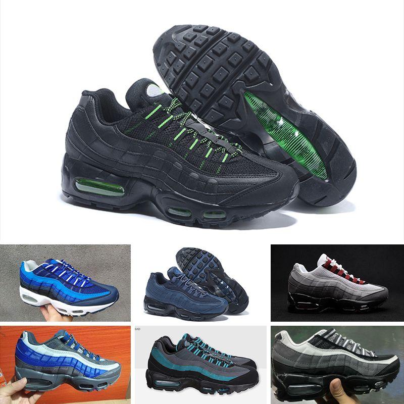 b7a6c4758b18ad 2018 Air Cushion1 95 TT PRM Running Shoes For Men Women Sports ...