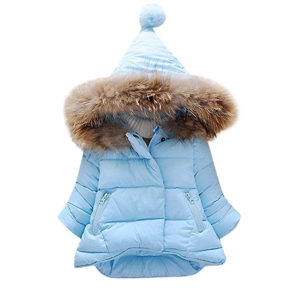 03d38b81e7b2 MUQGEW Baby Girls Boys Kids Jacket Coat Autumn Winter Warm Children ...